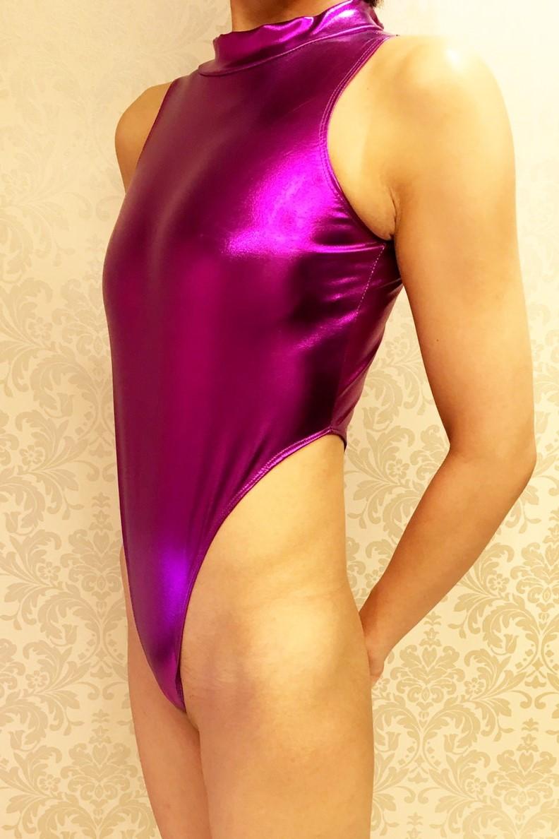 オプション1レオタード 紫